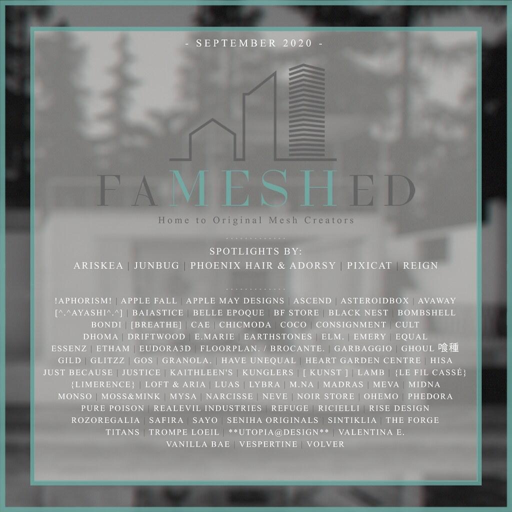 FaMESHed – Sept 2020
