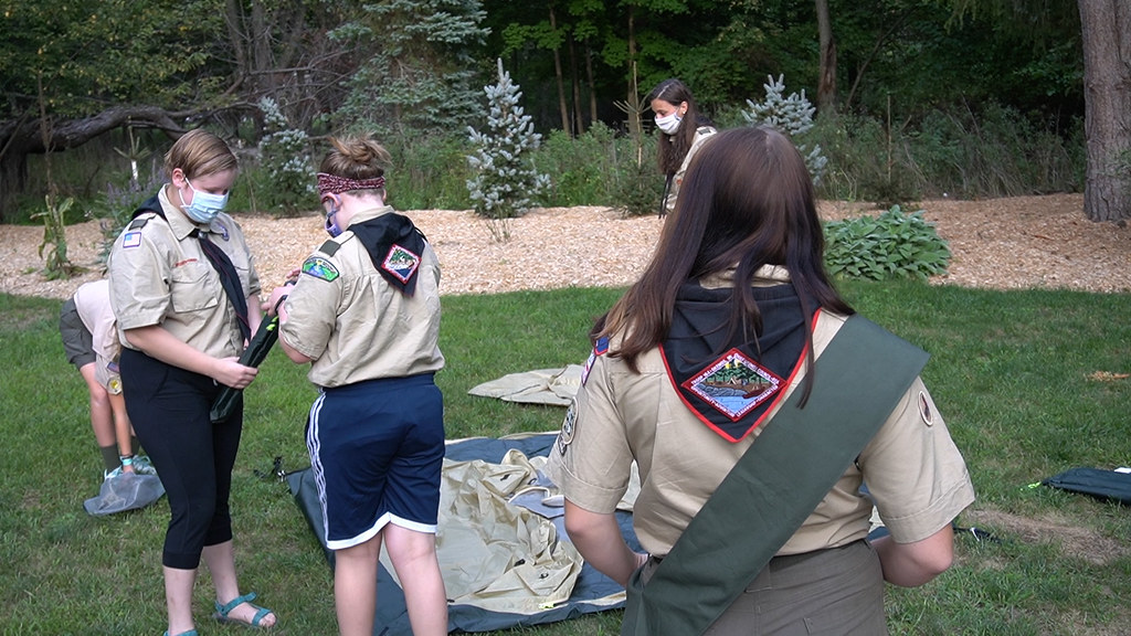 Two Local High Schoolers to be in the Inaugural Class of Female Eagle Scouts