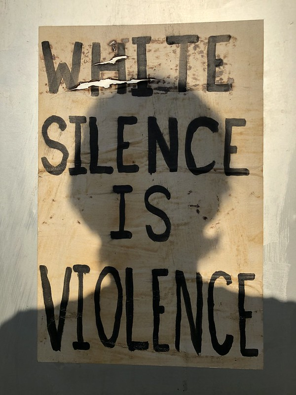 IMG_6983 WHITE SILENCE IS VIOLENCE_ mask