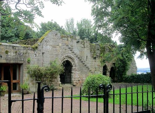 Culross Abbey Ruins,River  Forth