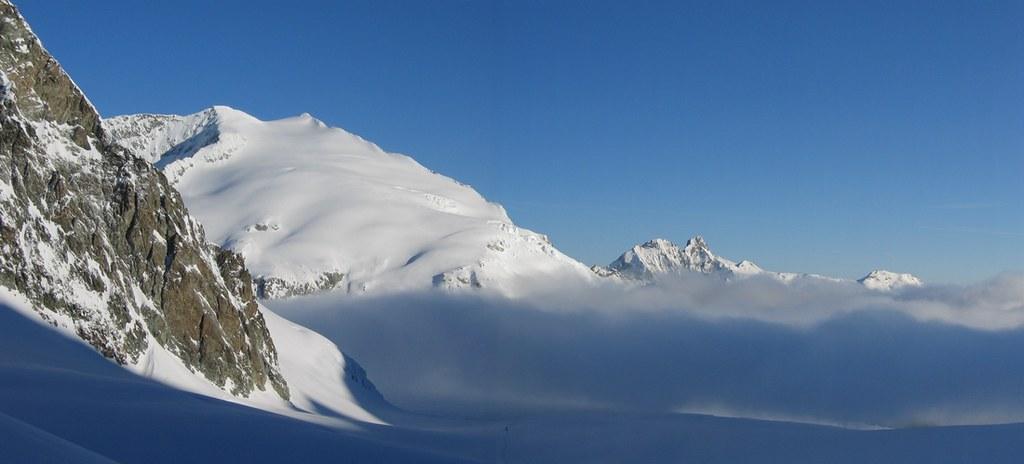 Pigne d´Arolla Walliser Alpen / Alpes valaisannes Švýcarsko foto 02