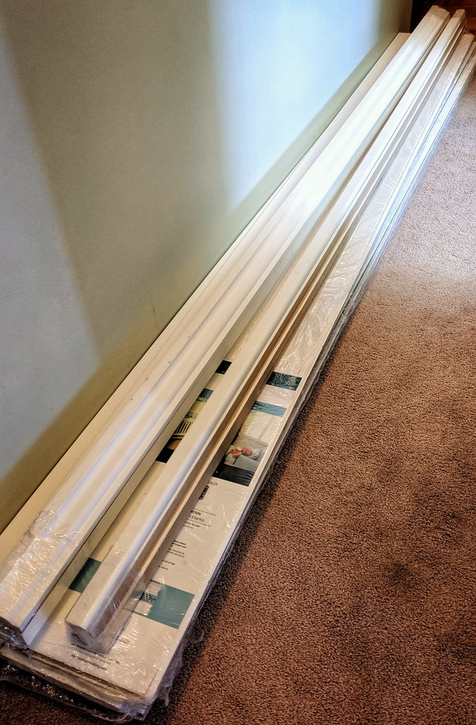 Some Wainscot and Trim