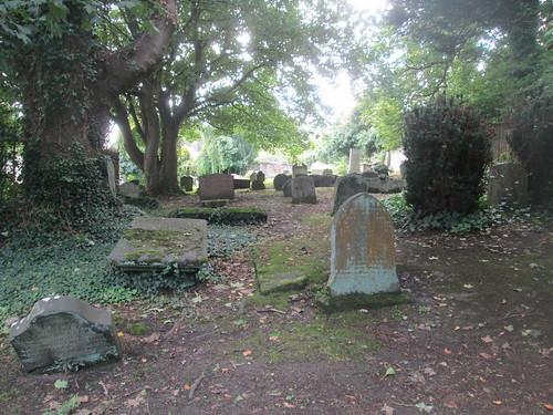 Culross Abbey church  graveyard
