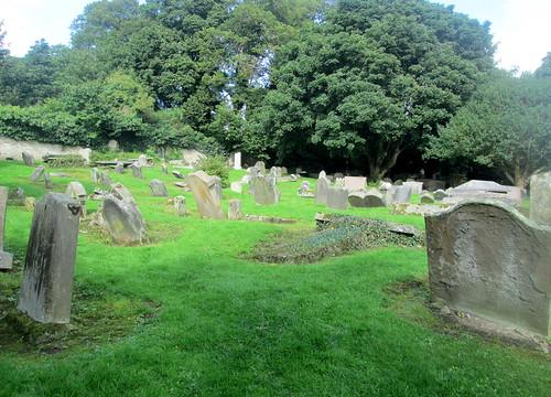 Culross graveyard , Fife, Scotland