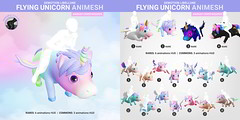 SEmotion Libellune Flying Unicorn Animesh