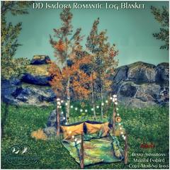 DD Isadora Romantic Log Blanket-Adult AD