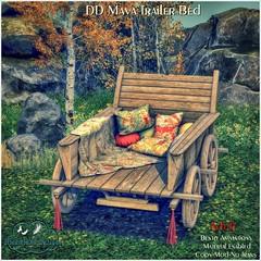 DD Maya Trailer Bed-Adult AD