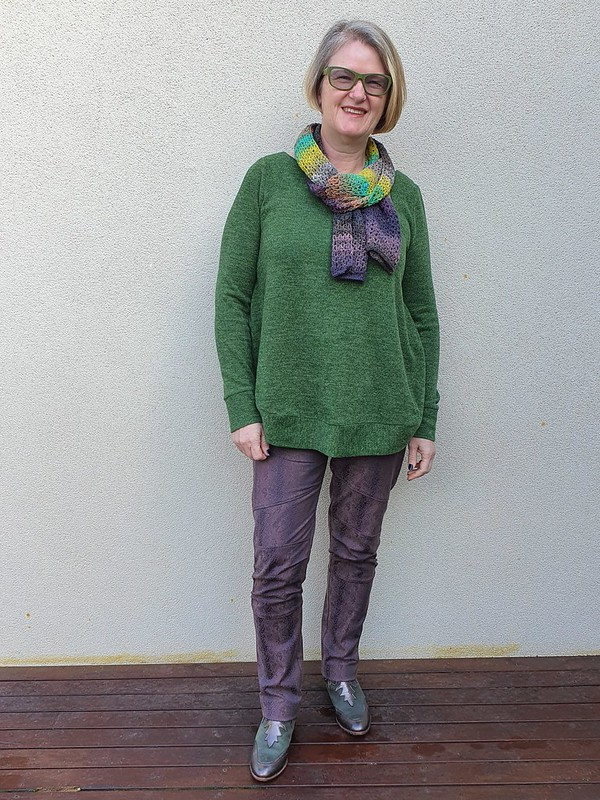 Style Arc Cassie pants in stretch bengaline from Super Cheap Fabrics
