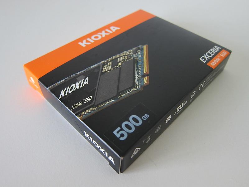 Kioxia Exceria 500GB NVMe M.2 SSD - Box