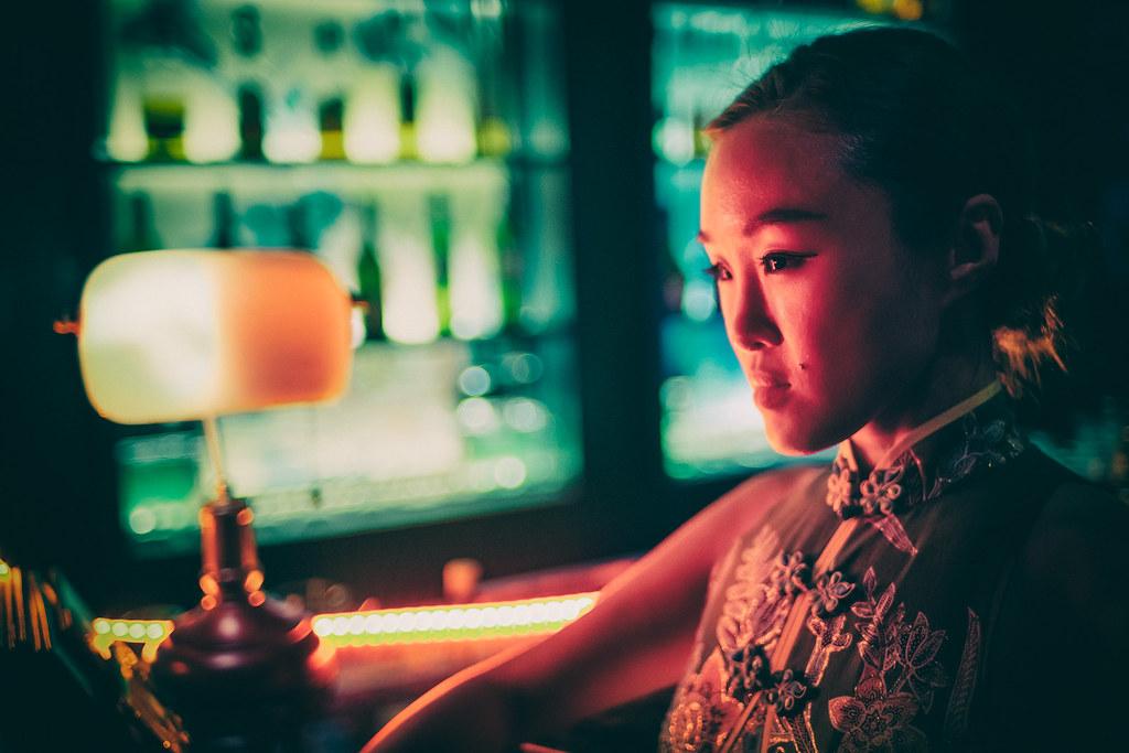 At The Cocktail Bar