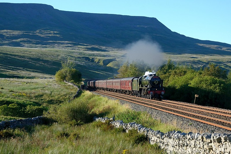 46115 Scots Guardsman with the southbound Dalesman Copyright David Price No unauthorised use