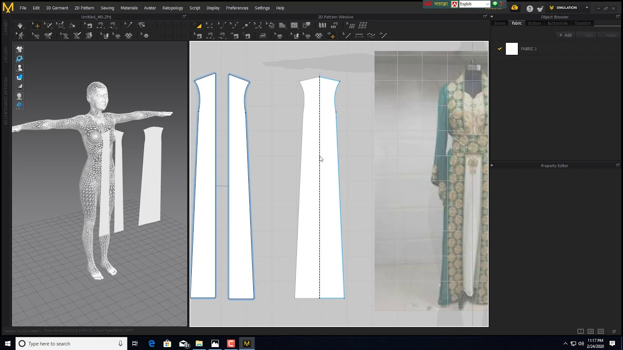 Working with Marvelous Designer 9 Enterprise 5.1 full