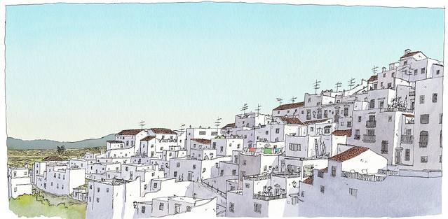 Spain, Andalusia, Vejer de la Frontera