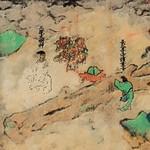 『長谷寺縁起絵巻』の詞書と絵図