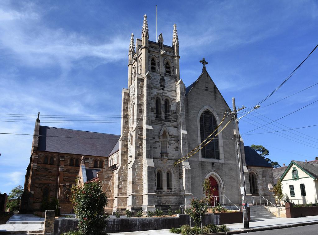 St Thomas Beckets Catholic Church, Lewisham, Sydney, NSW.