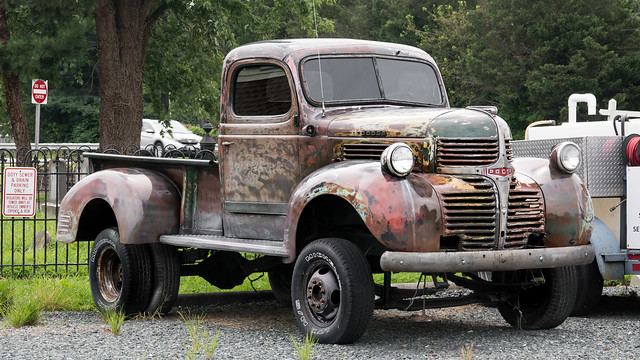Dodge Truck, Trappe, Maryland Eastern Shore