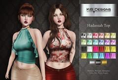 KiB Designs - Hadassah Top @Designer Showcase
