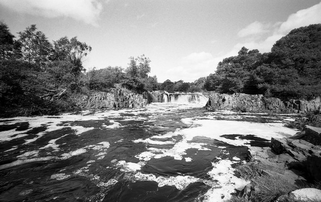 The Tees Frothing at Low Force