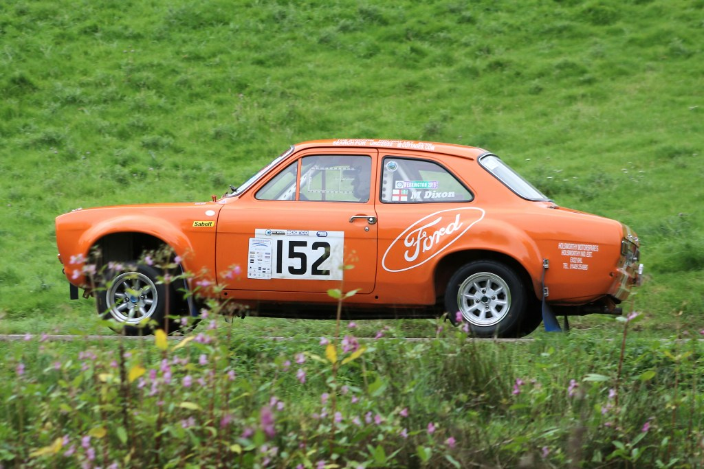 Mike Dixon's Escort MK1 at Wiscombe (N Cole)