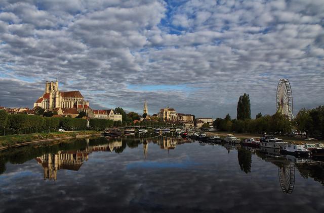 Un matin à Auxerre (Bourgogne)