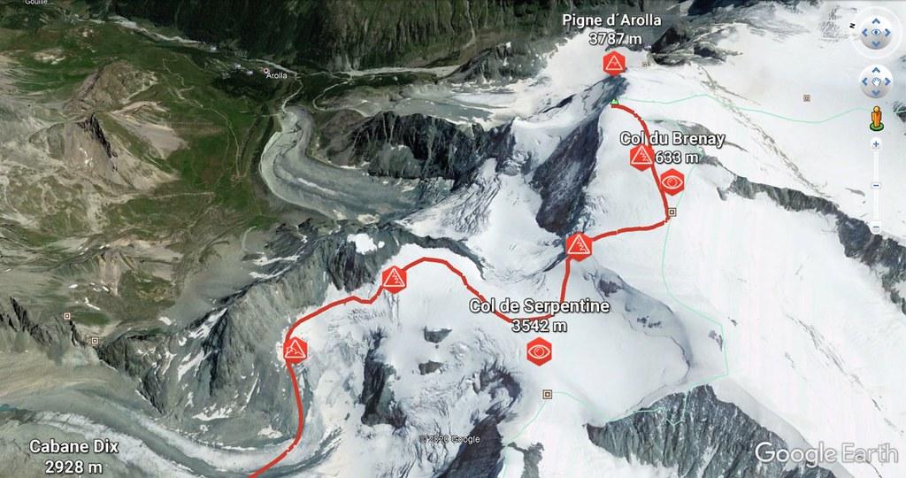 Pigne d´Arolla Walliser Alpen / Alpes valaisannes Švýcarsko foto 06