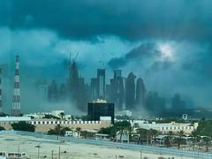 Storm over Doha