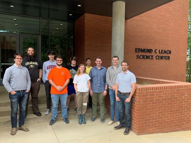 Auburn Associate Professor Guillaume Laurent and his research team