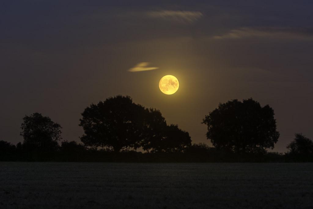 The Corn Moon, the last full moon of summer.