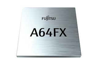 Fujitsu A64FX Arm processors