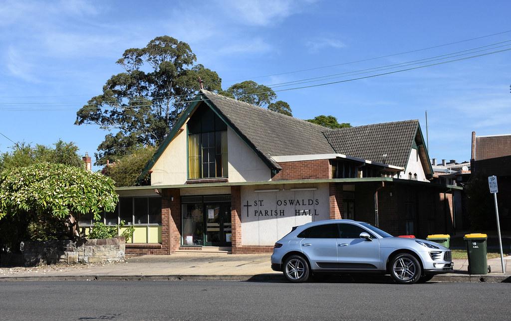St Oswald's Parish Hall, Haberfield, Sydney, NSW.