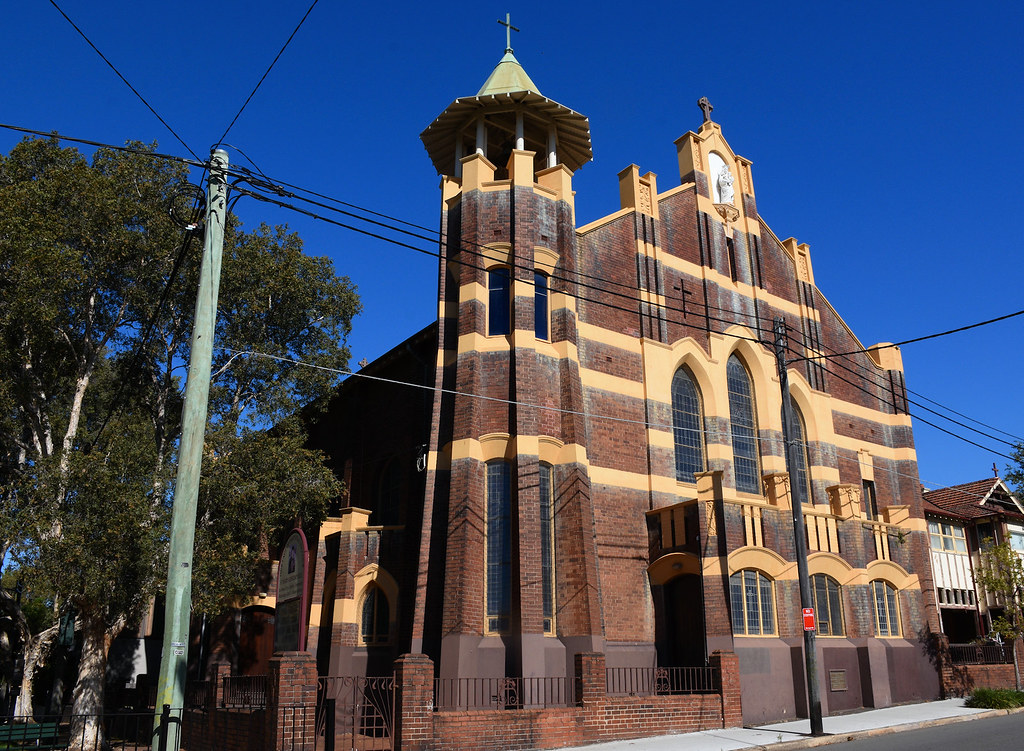 Our lady of Perpetual Succour Catholic Church, Erskinville, Sydney, NSW.