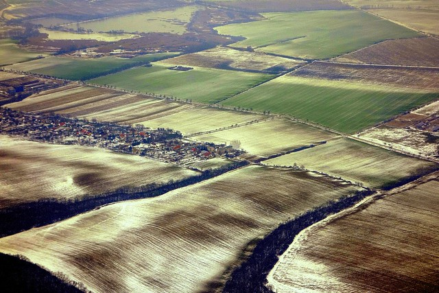 aerial view, Slovakia
