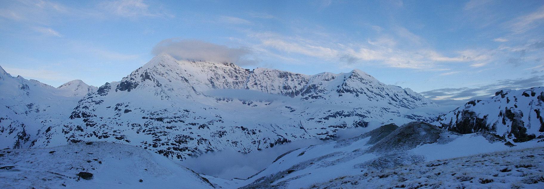 La Ruinette Walliser Alpen / Alpes valaisannes Švýcarsko panorama 10
