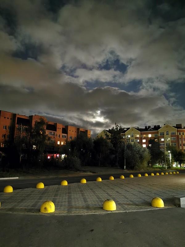Frjasino in der Nacht