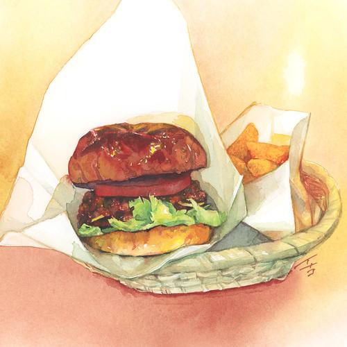 20200714ハンバーガー