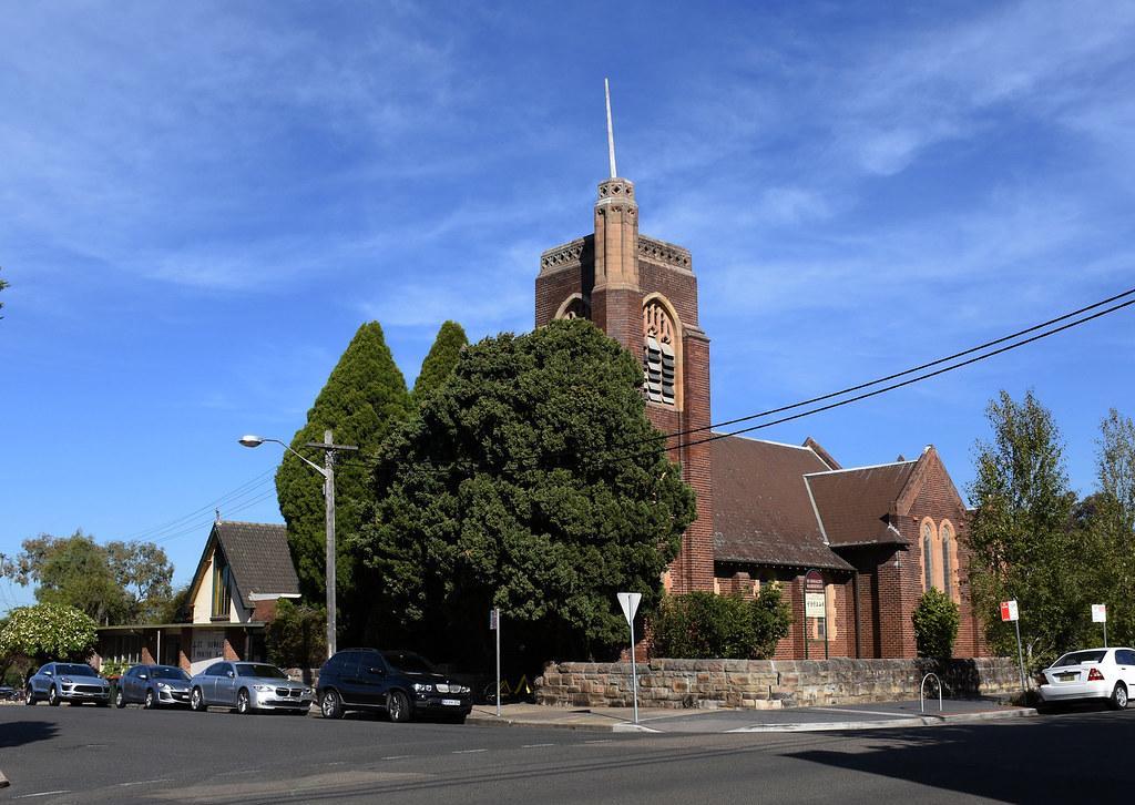 St Oswald's Anglican Church, Haberfield, Sydney, NSW.