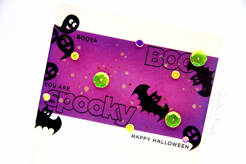 Spooky card closeup1