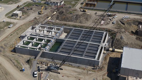 NTMWD Water Operation - WylieWTP_Plant 1 construction