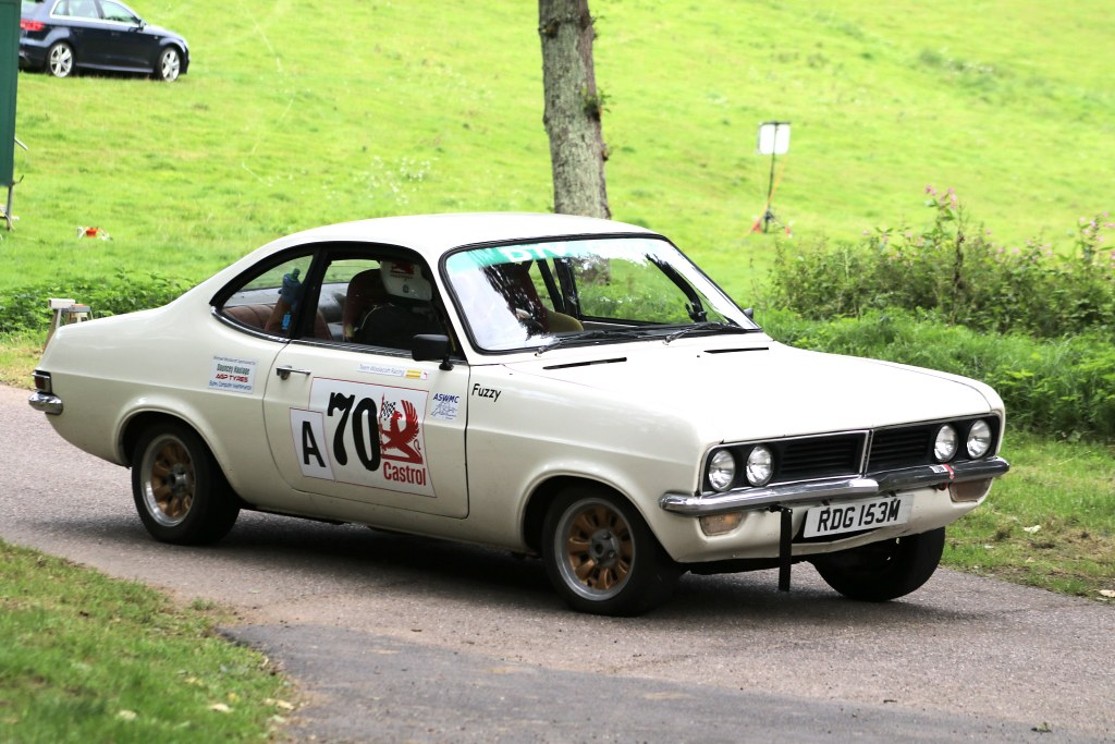 The Firenza Sport of Nick Woolacourt at Wiscombe (N Cole)