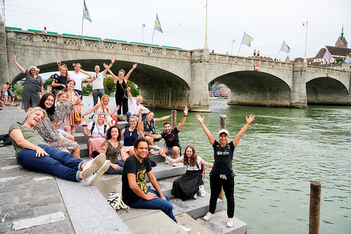 Conscious Travel project 1.0. Group picture Basel