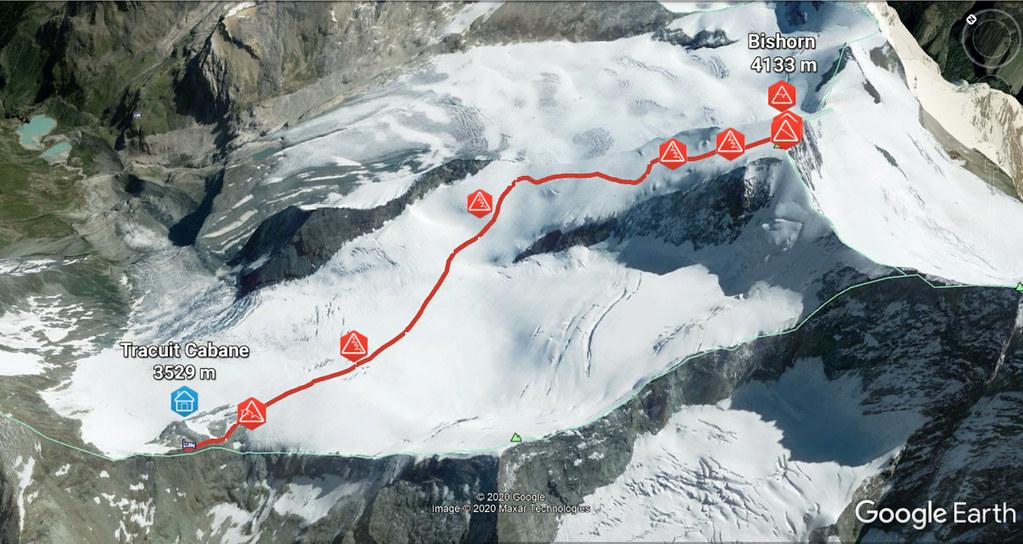 Bishorn Walliser Alpen / Alpes valaisannes Switzerland photo 01