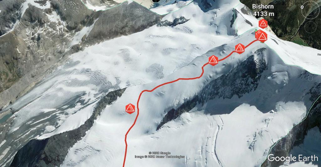 Bishorn Walliser Alpen / Alpes valaisannes Switzerland photo 02