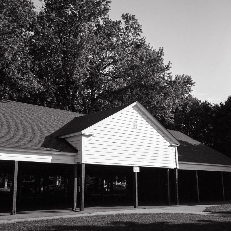 Leuty Avenua shelter August 2020