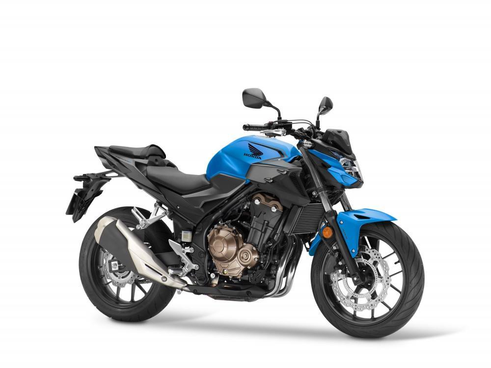 Honda CB500F 2021 Blue