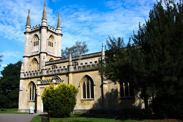 St. Lawrence church in Hungerford