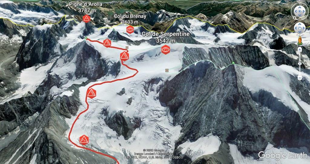 Pigne d´Arolla Walliser Alpen / Alpes valaisannes Švýcarsko foto 05