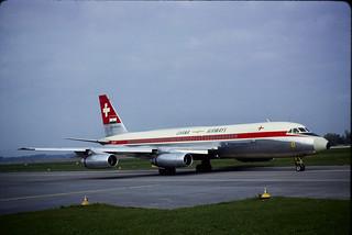 CV-990 Ghana Airways HB-ICF ZRH