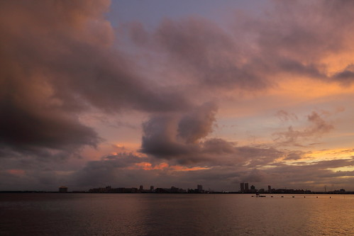 chiba japan ichikawa sky sunset sea bay tokyobay water goldenhour magichour