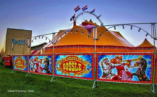 Circus Bossle,Groningen stad,the Netherlands