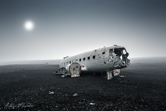 1973 Douglas Super DC3 Plane Wreck (Iceland)